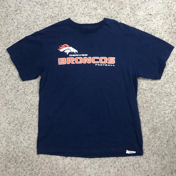 buy popular 88772 1804e Vintage authentic nfl Apparel Denver Broncos